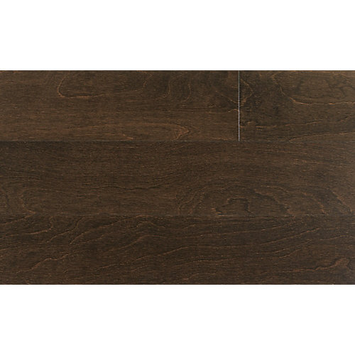 Espresso Birch 4 7/8-inch W Click Engineered Hardwood Flooring (25.83 sq. ft. / case)