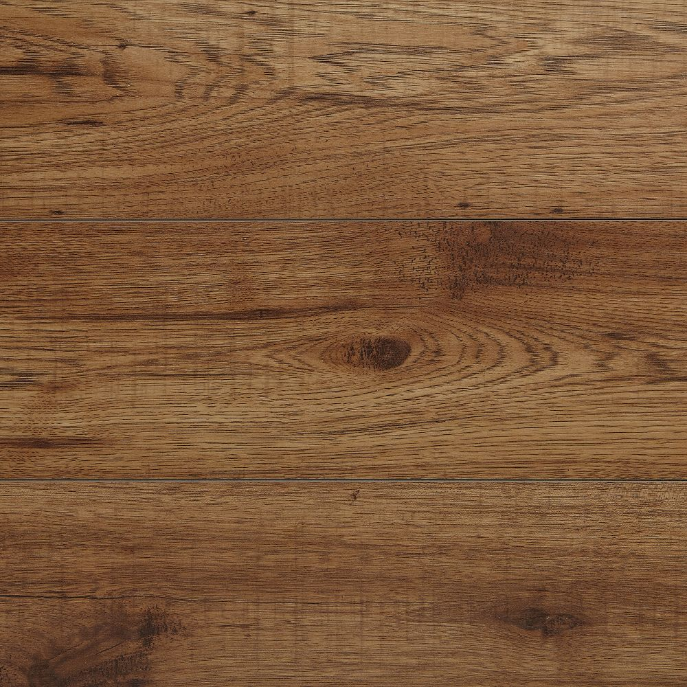 Home Decorators Collection 12mm Brown Hickory Laminate Flooring (16.57 sq. ft. / case)