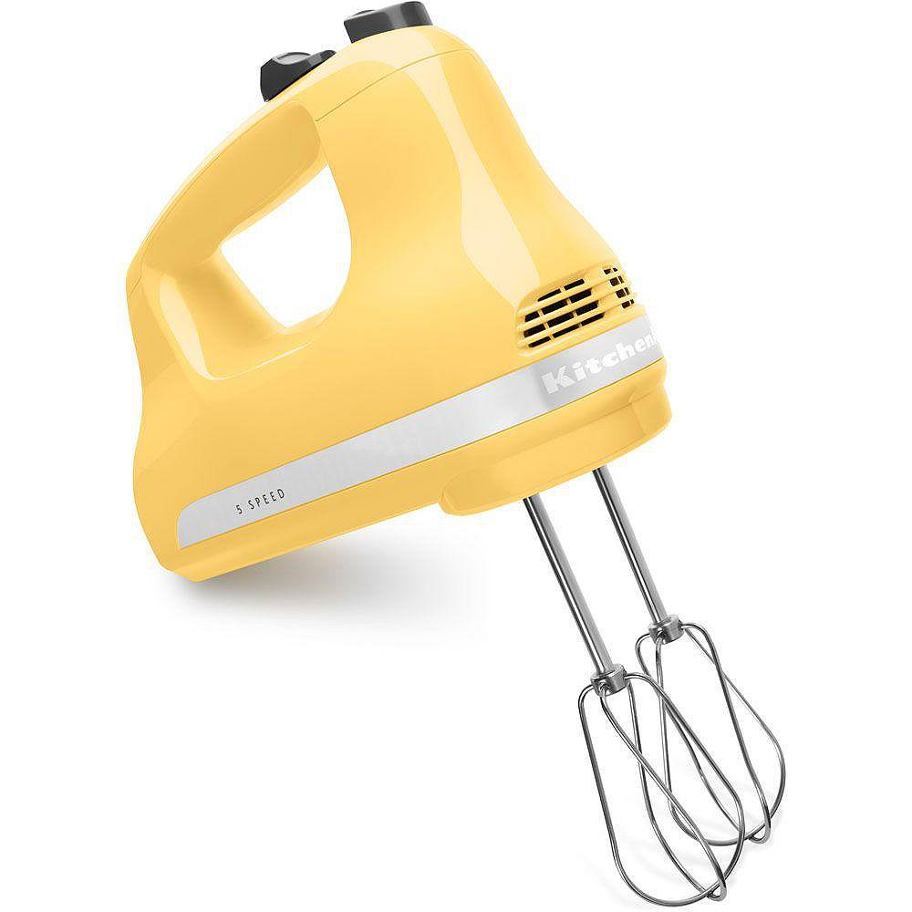 KitchenAid 5-Speed Ultra Power Hand Mixer in Majestic Yellow