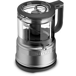 3.5 Cup Mini Food Processor in Contour Silver