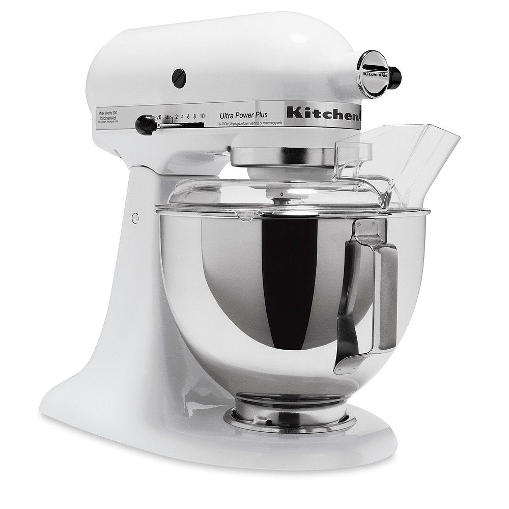 KitchenAid Ultra Power Plus Tilt-Head Stand Mixer in White