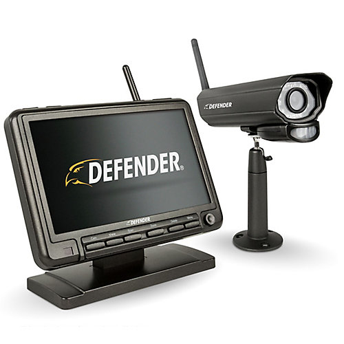 7-inch Digital Wireless Monitor Home Security DVR & Night Vision Camera