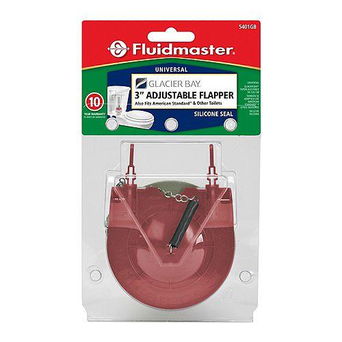Fluidmaster 3 inch Toilet Tank Flapper for Glacier Bay