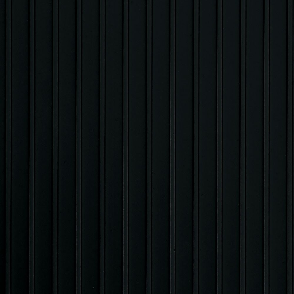 G-Floor Rib Standard Grade 7.5 ft. x 17 ft. Midnight Black Garage Floor Cover and Protector