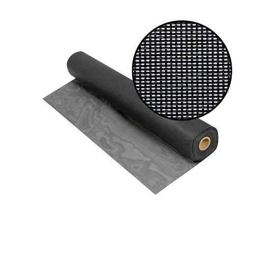 Solar Insect Screen Charcoal 48 Inch x100 Feet