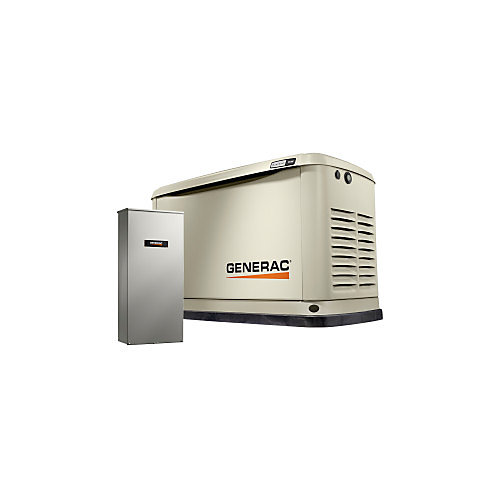9000W LP/ 8000W NG Air Cooled Standby Generator with Automatic Transfer Switch and Wi-Fi