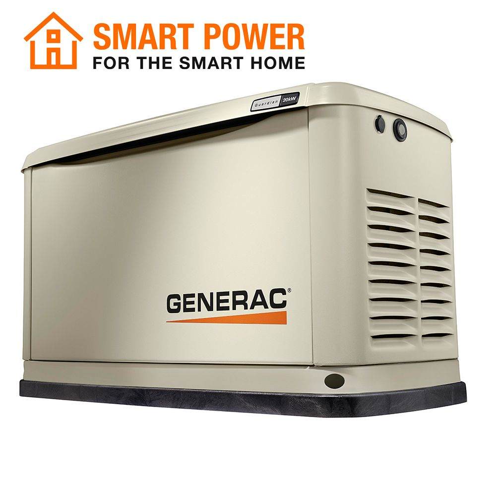 Generac 20,000W LP / 18,000W NG Air Cooled Standby Generator with Wi-Fi 7038