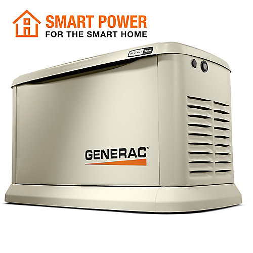 22,000W (LP)/19,500W (NG) Air Cooled Standby Generator