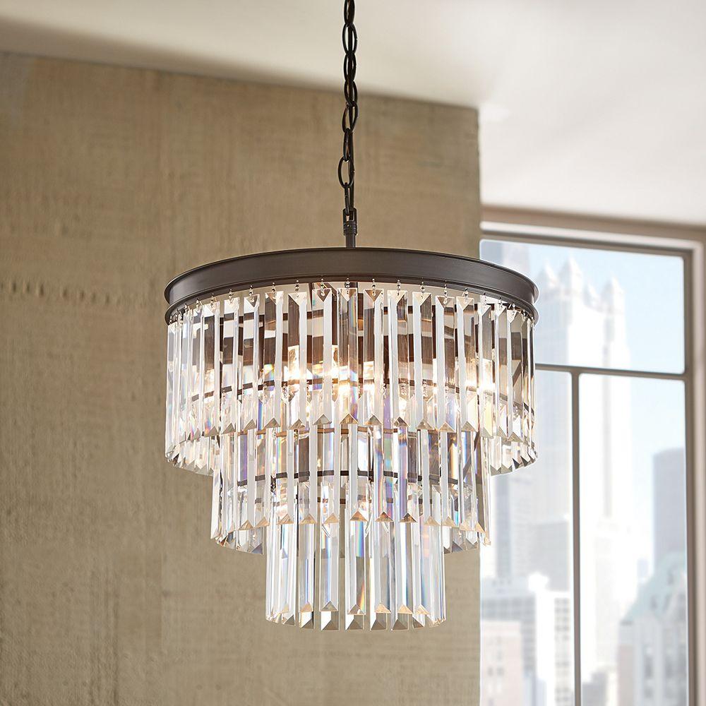 Home Decorators Collection 5-Light Pendant Ceiling Light ...