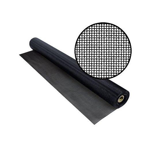 "TuffScreen No-See-Um noir 96"" x 100'"