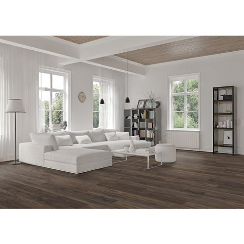 Bisonridge Hickory 12mm Thick x 6.26 inch Wide x 54.45 inch Length (16.57sf)