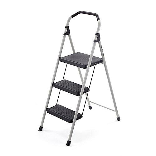3-Step Lightweight Steel Step Stool