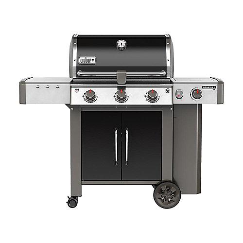 Genesis II LX E-340 3-Burner Liquid Propane BBQ in Black