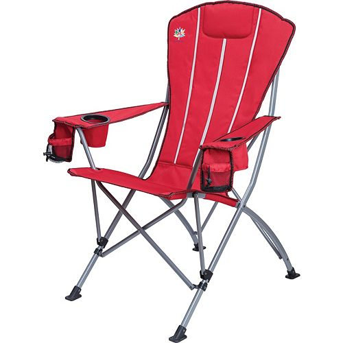 Folding Muskoka Chair in Red