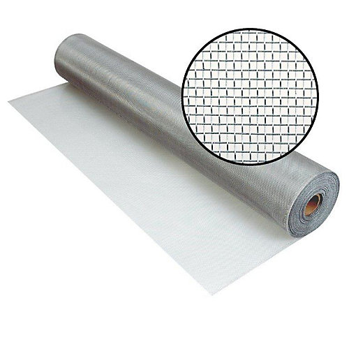 Aluminum Screen Brite 48 Inch x 50 Feet