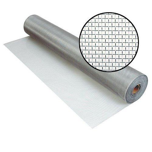 "Moustiquaire Brite en aluminium 60""x50'"