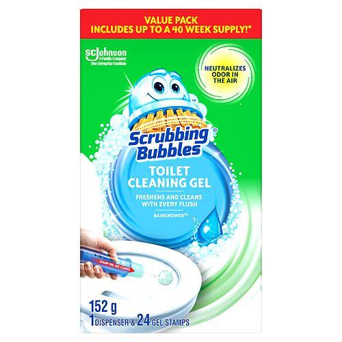 Toilet Cleaning Gels 1+4 Rainshower Grocery Pack