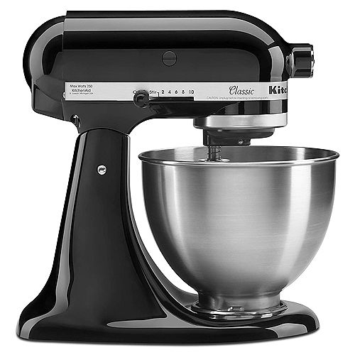 Classic 4.5-Quart Tilt-Head Stand Mixer in Stainless Steel