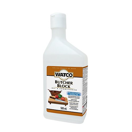 Butcher Block Oil & Finish , 500 Ml