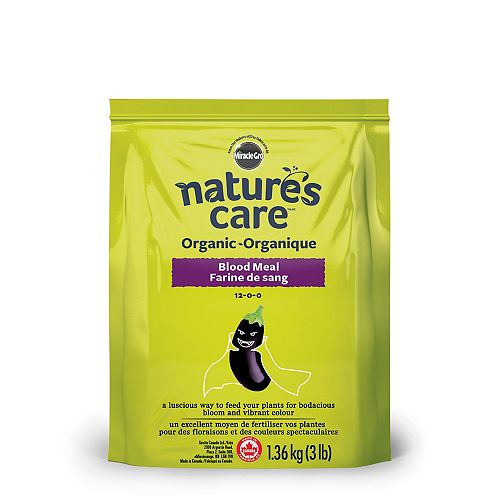 Miracle-Gro Farine de sang organique Nature's Care, 1,36 kg