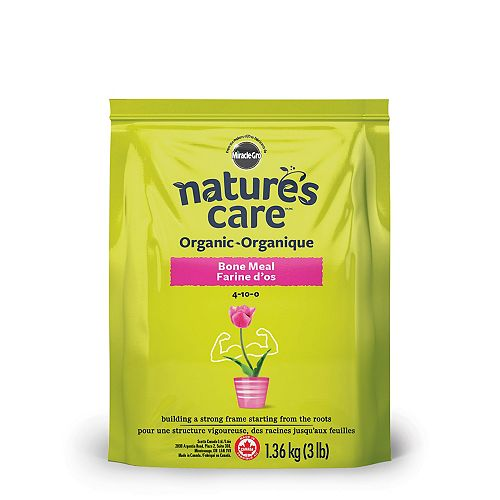 Miracle-Gro Farine d'os organique Nature's Care, 1,36 kg