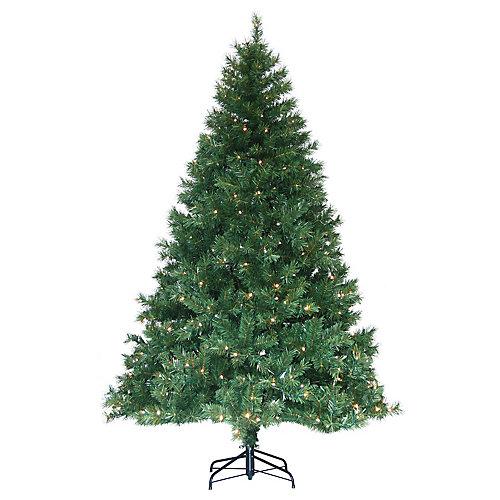 arbre de Noël Avec les lumières