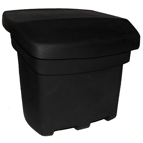 Forest City Models 5 cu. ft. Outdoor Sand and Salt Storage Bin in Black