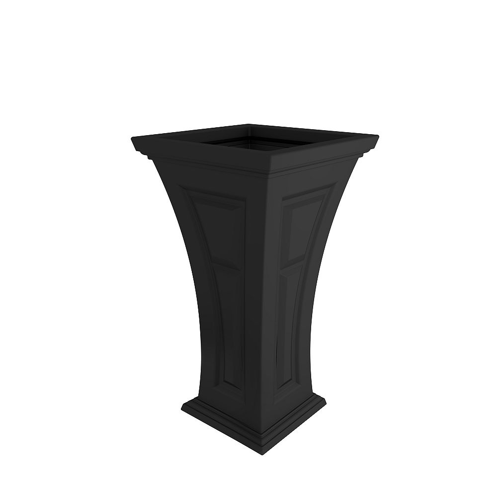 YIMBY Heritage Planter in Black