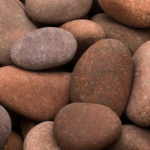0.25 cu. ft. 1-inch to 2-inch Rosa Beach Pebbles