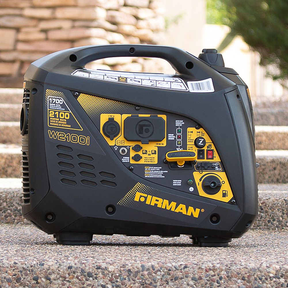 FIRMAN 2100/1700 Watt Recoil Start Inverter Portable Generator CARB and cETL Certified