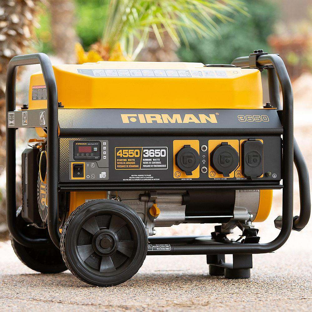 Firman Generators Performance Series 3650W Generator