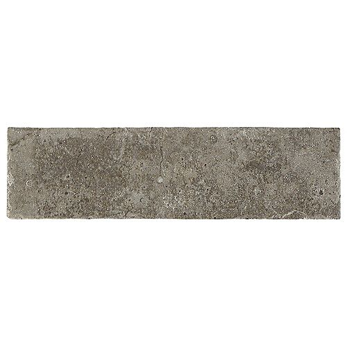 Barrie Brick 2-inch x 8-inch Earth Gray Paver Floor and Wall Tile (6.24 sq. ft. / case)