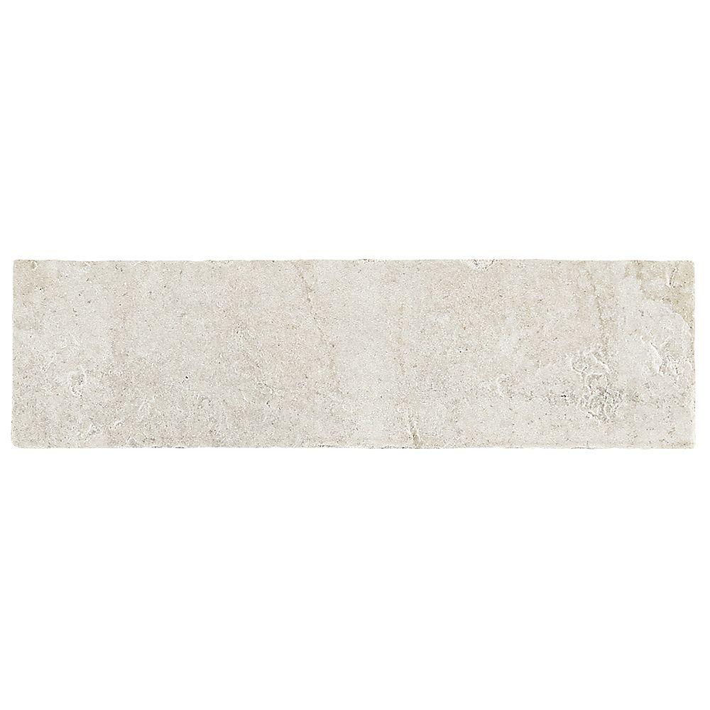 Dal Tile Barrie Brick Rustic White 2 Inch X 8 Inch Paver Floor And Wall Tile The Home Depot Canada