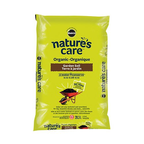 Nature's Care Miracle-Gro Organic Garden Soil with Water Conserve
