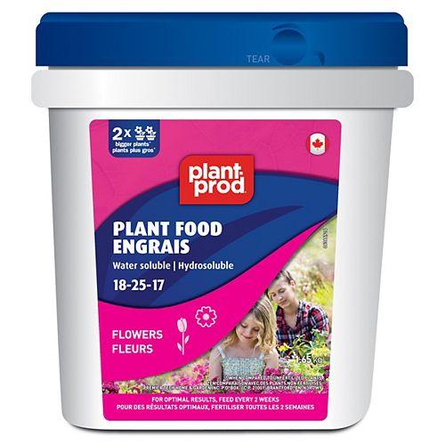 Engrais pour fleurs Flower Blooms WS 18-25-17, 1,65 kg
