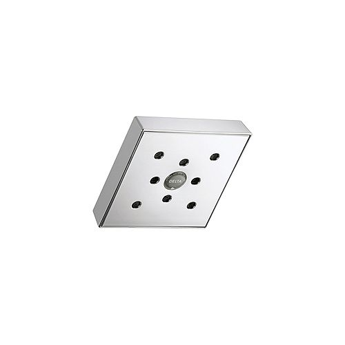 Delta Shower Head With H2O Kinetic Technology in Chrome