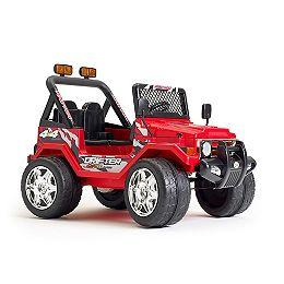 Jeep Wrangler Porteur de 12 Volts - Rouge