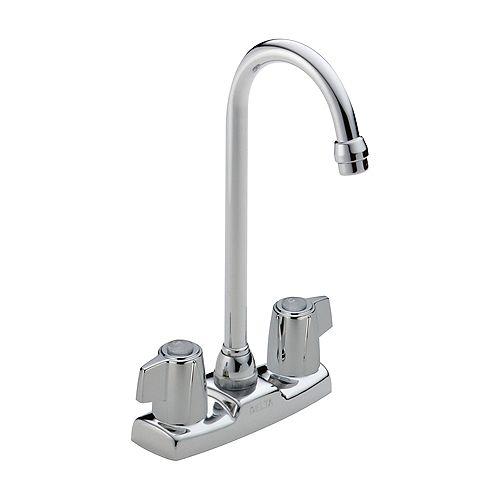 Two Handle Blade Bar/Prep Faucet, Chrome