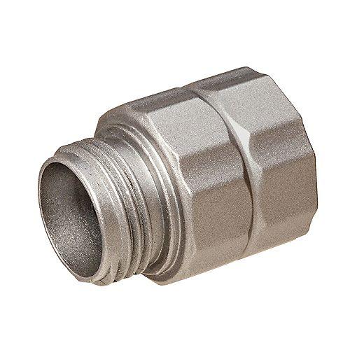 Zinc Grip-Lock Male 5/8 inch Mender