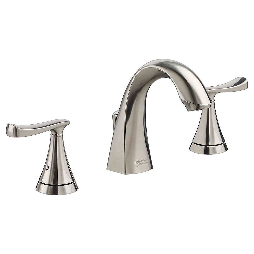 American Standard Chatfield Widespread (8-inch) 2-Handle High Arc Bathroom Faucet with Lever Handles in Brushed Nickel