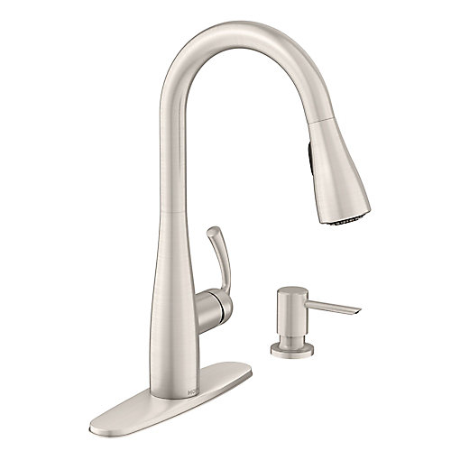 Essie Single-Handle Pull-Down Sprayer Kitchen Faucet with Reflex in Spot Resist Stainless