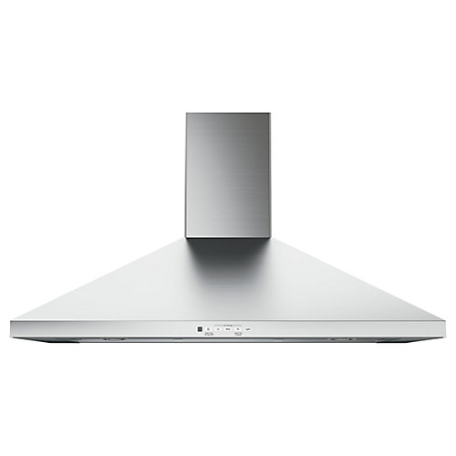 36-Inch W 350 CFM Wall Mount Range Hood in Stainless Steel
