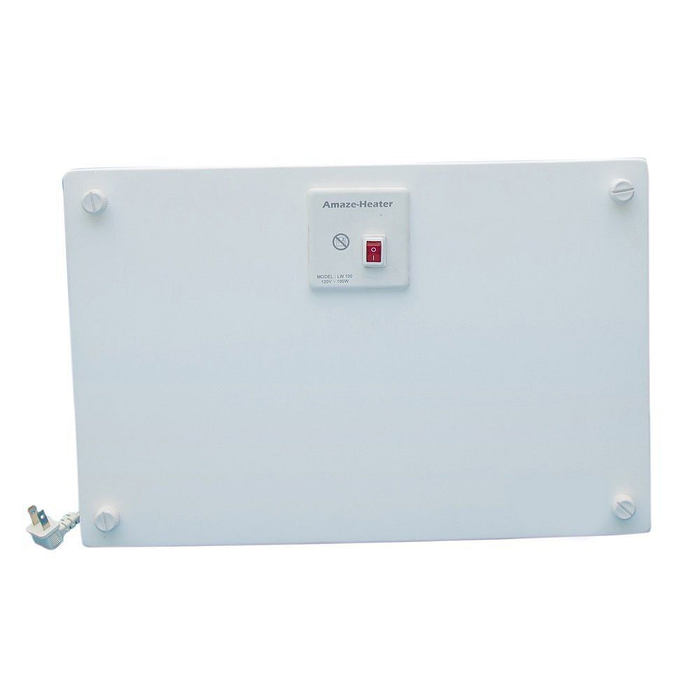 Amaze Heater 100-Watt Ceramic Electrical Under The Desk Space Heater With Ezymount Stands