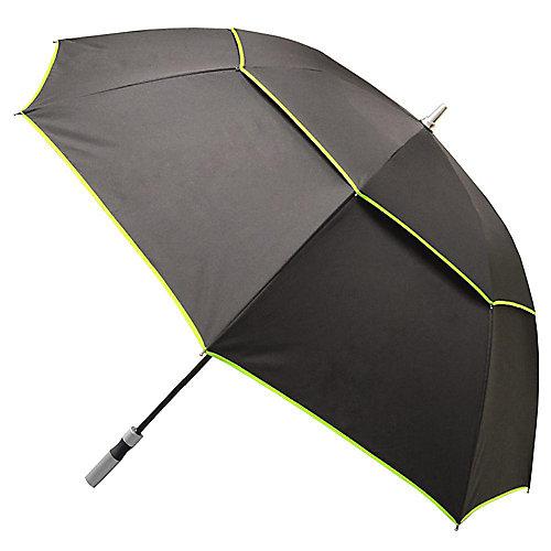 Noir avec bordure verte Manuel Open Vented-XL