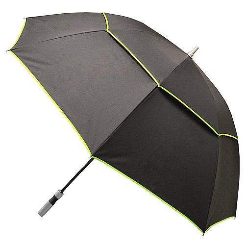 Black with Green Trim Manual Open Vented-XL