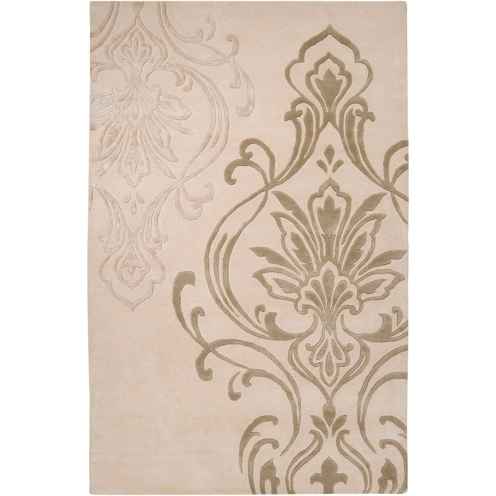 Home Decorators Collection Clovis Beige 9 Feet x 13 Feet Indoor Area Rug