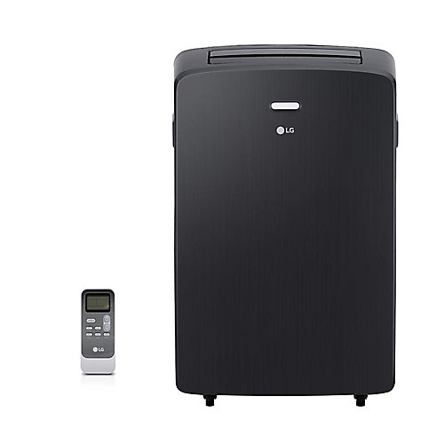 12,000 BTU 115-Volt Portable Air Conditioner with Dehumidifier and Remote