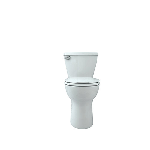Cadet 10 inch Rough-in, 2-Piece Single-Flush Round Bowl Toilet