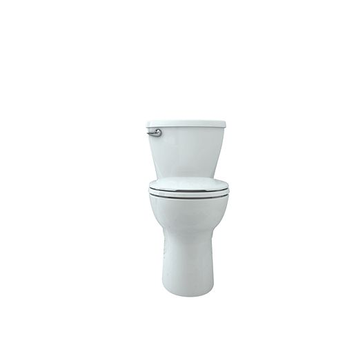 Cadet 10-inch Rough-in 2-Piece Single-Flush Round Bowl Toilet