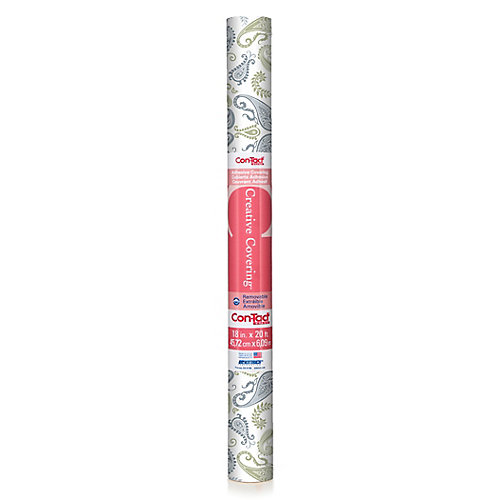 Adhesive Abbey Sage 18 inch x 20 ft
